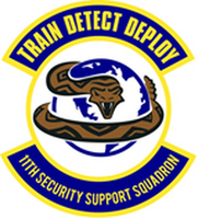 11th SECURITY Support Squadron Shirt