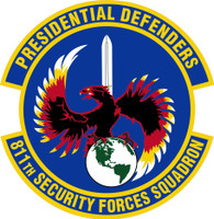 811th SECURITY FORCES Squadron Shirt