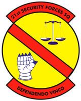 21st Security Forces Squadron Shirt