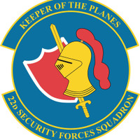 22nd Security Forces Squadron Shirt