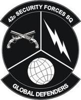 42nd Security Forces Squadron Shirt