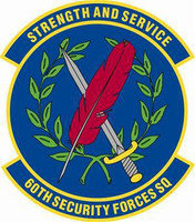 60th Security Forces Squadron Shirt