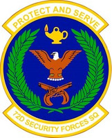 72nd Security Forces Squadron Shirt