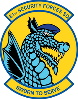 81st Security Forces Squadron Shirt