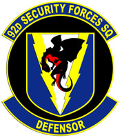92nd Security Forces Squadron Shirt