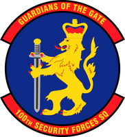 100th Security Forces Squadron Shirt