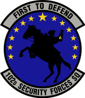 102nd Security Forces Squadron Shirt