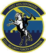 122nd Security Forces Squadron Shirt