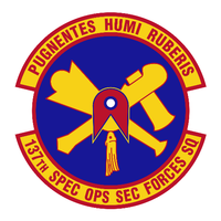 137th Security Forces Squadron Shirt