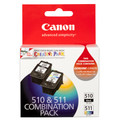Canon PG-510 & CL-511 Twin Pack