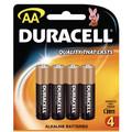 Duracell Coppertop AA Batteries Pk/4