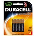 Duracell Coppertop AAA Batteries Pk/4