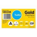 Tudor Envelopes 305 x 255 Plainface Peel-N- Seal Gold Box 250