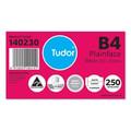 Tudor B4 Plainface Peel and Seal White Box 250