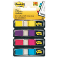 3M 683-4AB Post-it Assorted Mini Colour Flags Pk/140