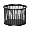 Esselte Mesh Paper Clip Holder - Black