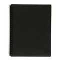 Marbig A4 20 Pocket Display Book with Coloured Cover Black