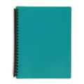 Marbig A4 20 Pocket Display Book with Coloured Cover Green