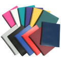 Marbig A4 20 Pocket Display Book with Coloured Cover Purple