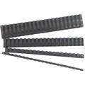 GBC Ibico Binding Comb 21 Loop Plastic 6mm Black Pk/100