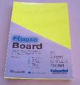 Fluroboard Yellow 250Gsm A3 Pk50
