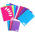 Marbig ColourHide Plus A4 Hardcover Notebooks 160 Page Pink