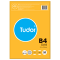Tudor Gold Envelopes B4 Plainface Peel and Seal Gold Pack 50