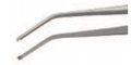 FORCPS. ANGLED, 1X2 TEETHLENGTH 15CM, FOR SIALOSCOPY