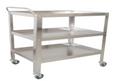 Instrument Trolley/Utility Cart, Small, 75cmLx50cmWx90xcmH