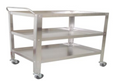 Instrument Trolley/Utility Cart, Medium, 91cmLx57cmWx110xcmH