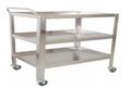 Instrument Trolley/Utility Cart, Large, 91cmLx52cmWx120xcmH
