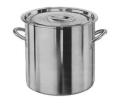 "Storage Container W/Cover & Handles, 24 Qt (6 Gal), 13"" x 13"", (33cm x 33cm)"