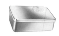 """Surgical Box With Cover, Without Knob, 12"""" x 8"""" x 2"""", (305cm x 203cm x 51cm)"""