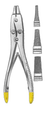Double Action Wire Extraction Pliers, 2mm Delicate jaws, TC inserts, (178cm)7""