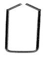 """CENTER-LOK Instrument Stringer 2-1/2"""" x 12"""", (6.4cm x 30.5cm).."""