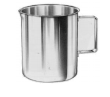 "Straight-Sided Pitcher, 2Qt. Capacity 5-1/6"" x 6-5/8"", (13cm x 16.8cm)."