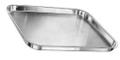 "MAYO Non-Perforated Tray, 13-1/2"" x 9-3/4"" x 3/4"", (34.3cm x 24.8cm x 1.9cm)."