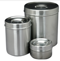 "Dressing Jar, Capacity 6 Quarts, 7-1/4"" x 8-3/8"", (18.4cm x 21.3cm)."