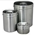 "Dressing Jar, Capacity 8 Quarts, 8"" x 9-3/8"", (20.3cm x 23.9cm).."