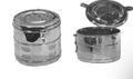 """Dressing Drum, Non-Ventilated, 6"""" x 4-3/4"""", (15.2cm x 12.1cm)."""