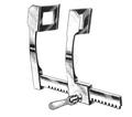 "FINOCHIETTO Rib Spreader, Curved Arms, Blades 48mm Deep x 65mm Wide, 10"" Spread (25.4cm), (662-056)"