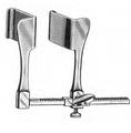"TUFFIER Retractor, 2"" x 1-3/4"" (5.1cm x 4.4cm), Grooved Blades, 6-1/2"" (16.5cm) Spread (662-254)"
