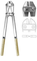 "Pin Cutter, Side Cutting, TC Jaws, (55.9cm) (706-607) 22"" Tungsten Carbide"