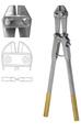 "Pin Cutter, Side Cutting TC W/Adjustable bolt, cuts 6mm wire, (55.9cm) (706-609)22"" Tungsten Carbide"