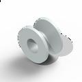 Baxter Bevel Bobbin Ventilation Tube- Fluroplastic 1.14mm lumen (6/bx)