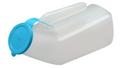 Translucent Male Urinal w/Translucent Cover- 0.95L