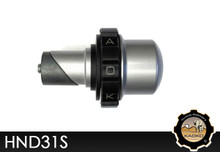 KAOKO Motorcycle Throttle Stabilzers for Honda VFR800 ('01- ) Matt Silver