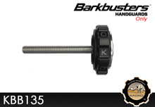 KAOKO Throttle Stabilizer for BMW G310 and G310 GS (2016-2018) - With BARKBUSTERS or SW-MOTECH hand guards type BHG-069  NON-HEATED GRIP MODELS ONLY