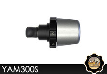 KAOKO Motorcycle Throttle Stabilzers for Yamaha Fazer 1 (-'10 Models) Silver Finish