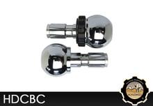 "KAOKO Cruise Control for Harley Davidson 1"" handlebars - Chrome Cannon Ball shape"